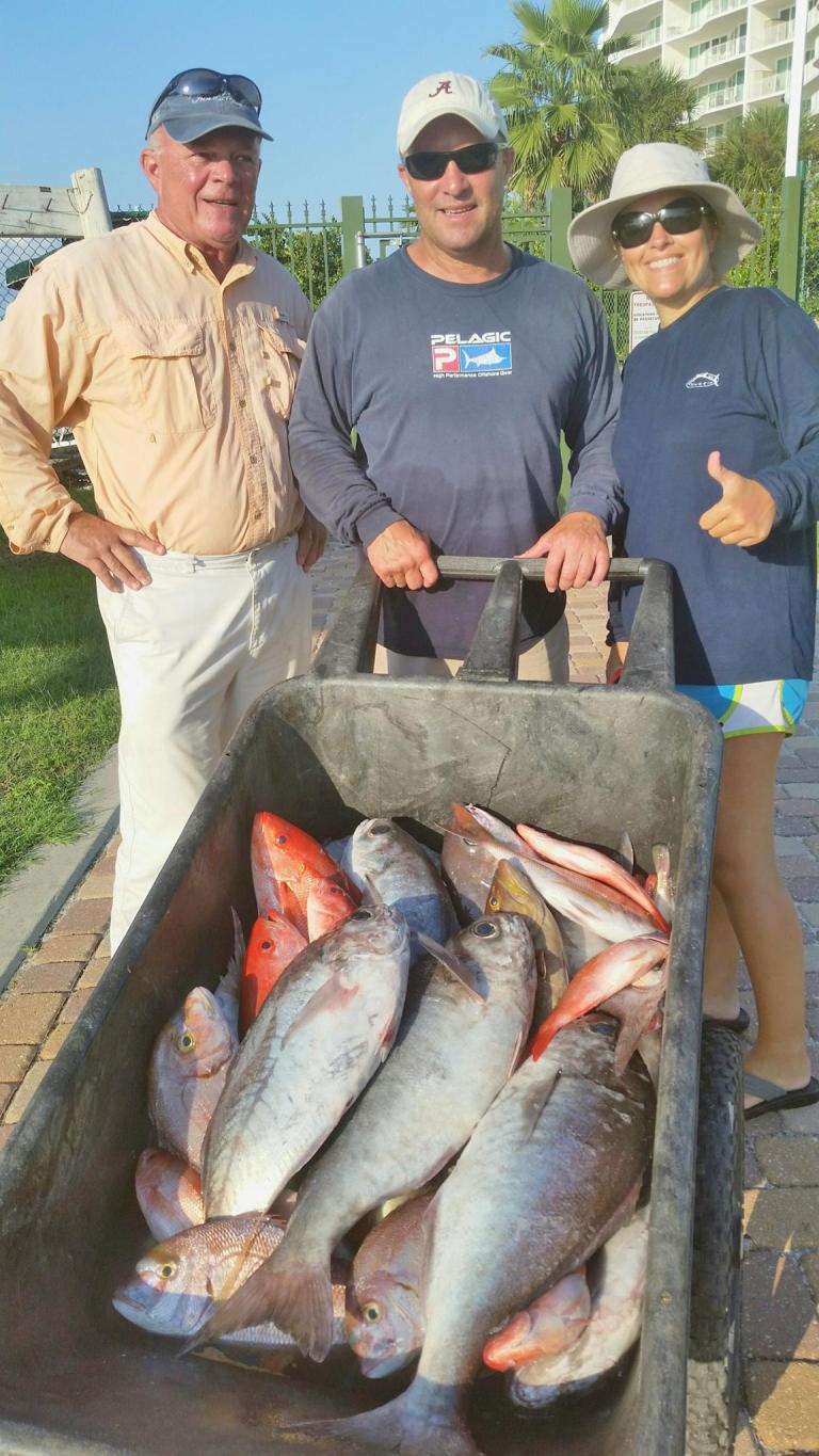 Did some deep dropping Sunday. Nice box of Barrel Fish, Long Tail Seabass, Tiles, Vermillion and White Snapper