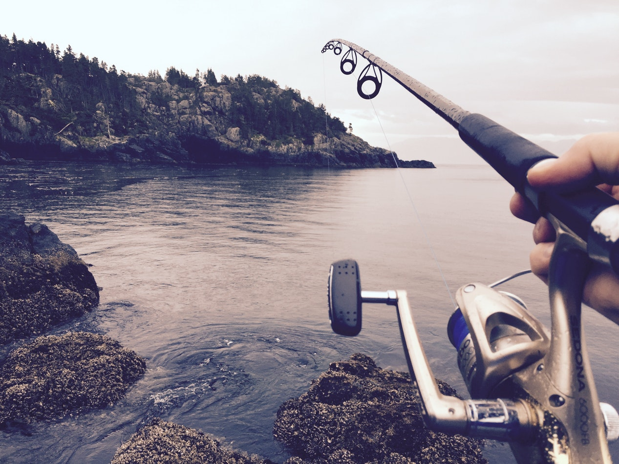 fishing for striped bass