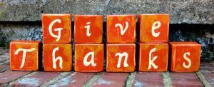 Give Thanks Orange