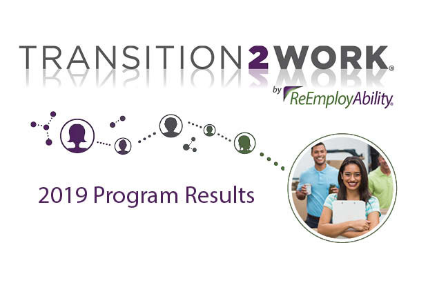 Annual Transition2Work and Community Impact Results for 2019