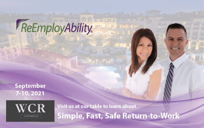 Join ReEmployAbility at the Workers' Compensation & Risk Conference, Sept. 7-10, 2021