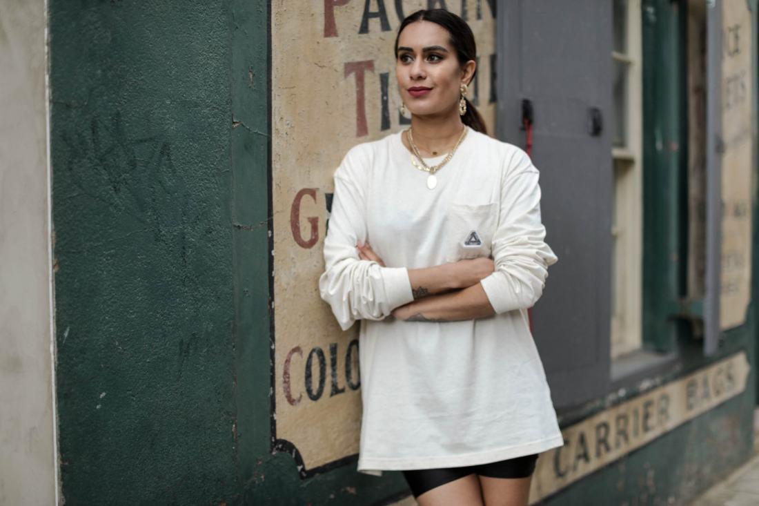 UK fashion blogger Reena Rai