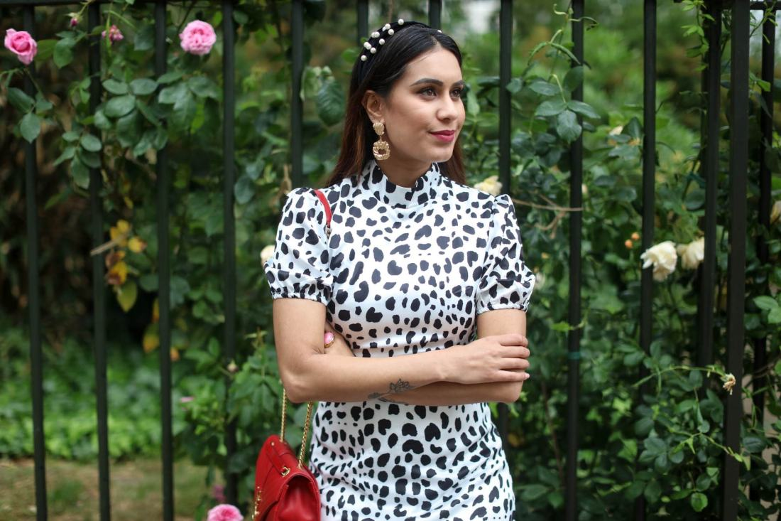 British Asian influencer and fashion blogger Reena Rai