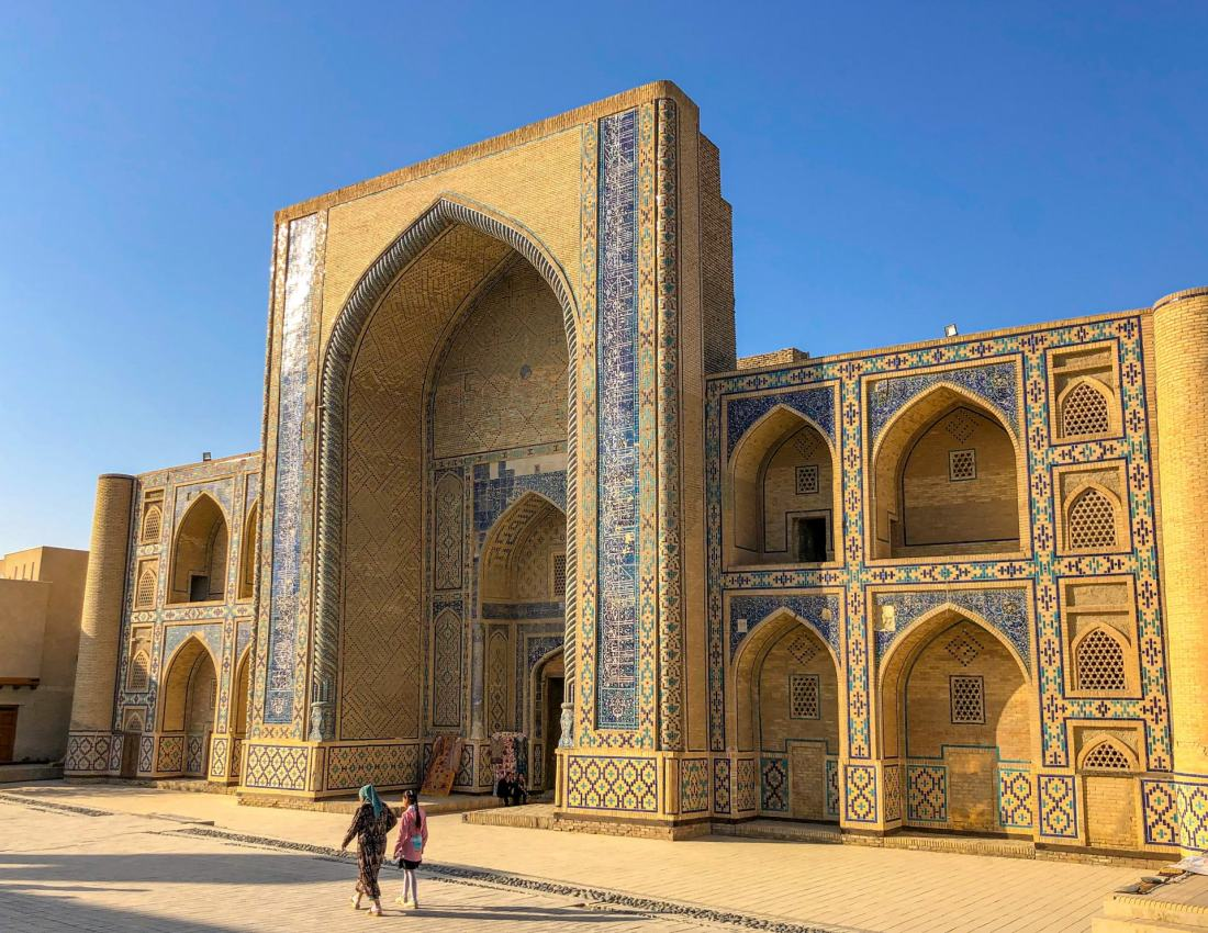 Uzbekistan travel itinerary - Ulugh Beg Madrasa, Bukhara