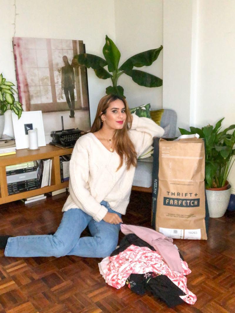 Fashion blogger Reena Rai is using Thrift+ service