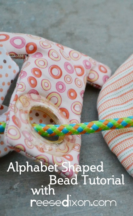 Alphabet Shaped Bead Tutorial