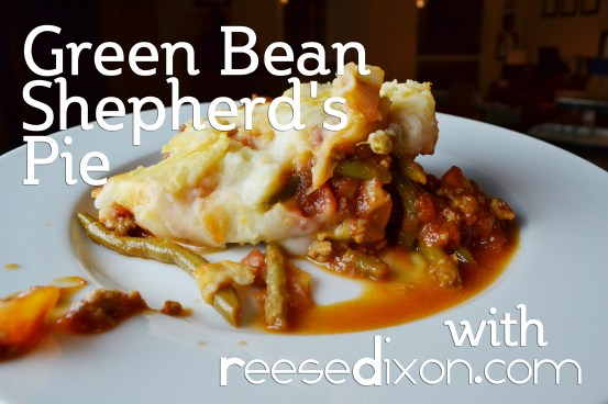 Green Bean Shepherds Pie