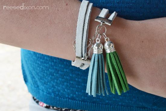 Leather Strip Bracelet