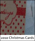 2010 Christmas Cards