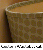 Custom Wastebasket