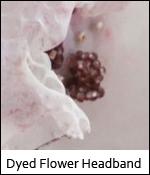 DyedFlowerHeadband