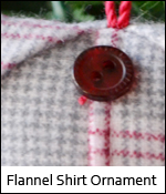 Flannel Shirt Ornament