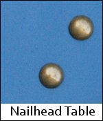 Nailhead Table