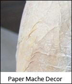 Paper Mache Decor