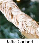 Raffia Garland