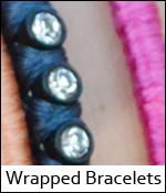 Wrapped Bracelets