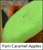 Yarn Caramel Apples photo YarnCaramelApples.jpg