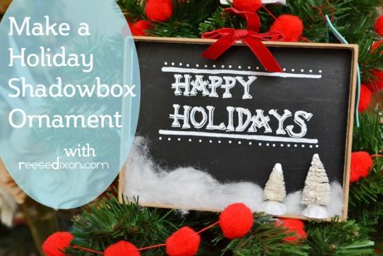 Christmas Shadowbox (2)