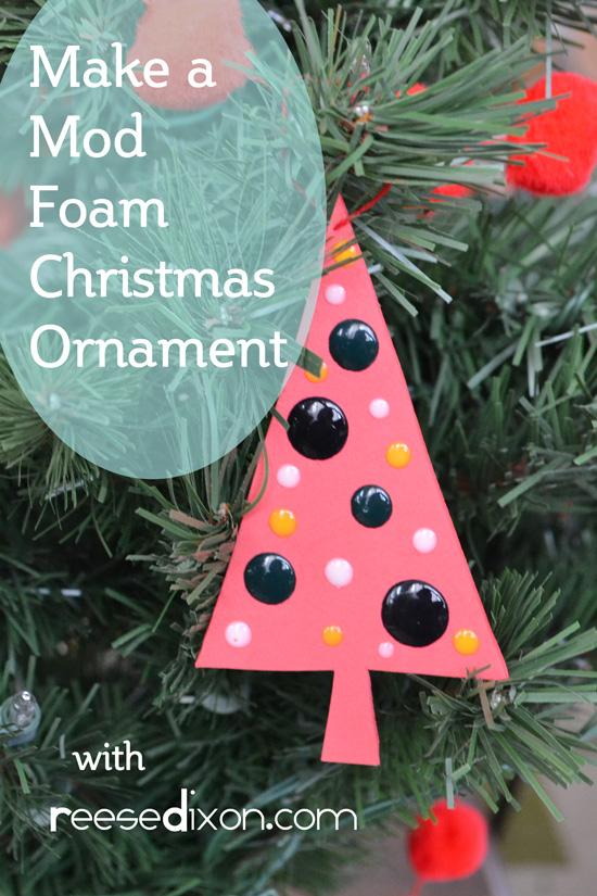 Mod Foam Ornament