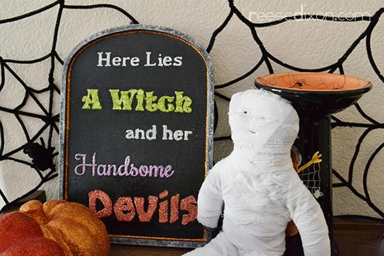 halloween-plaque