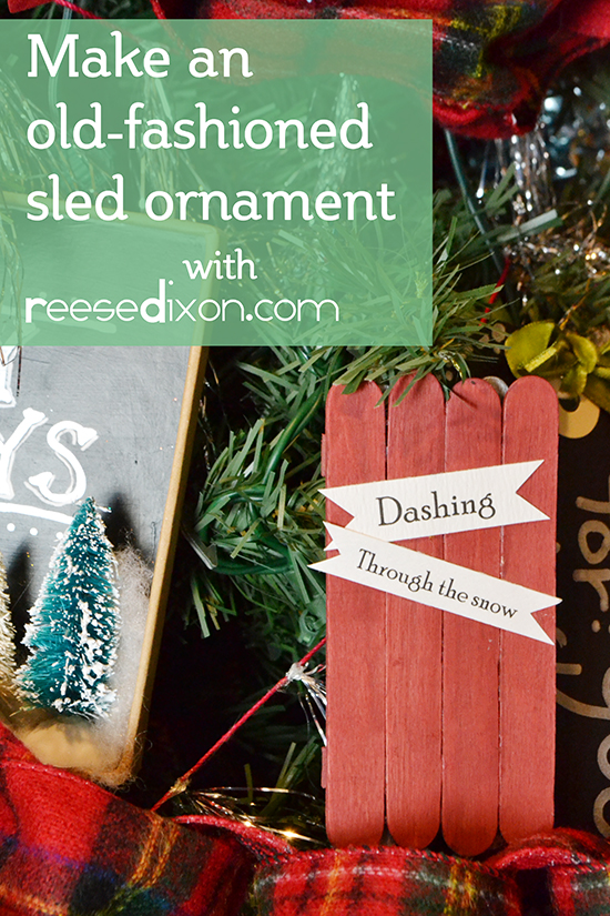 sled-ornament