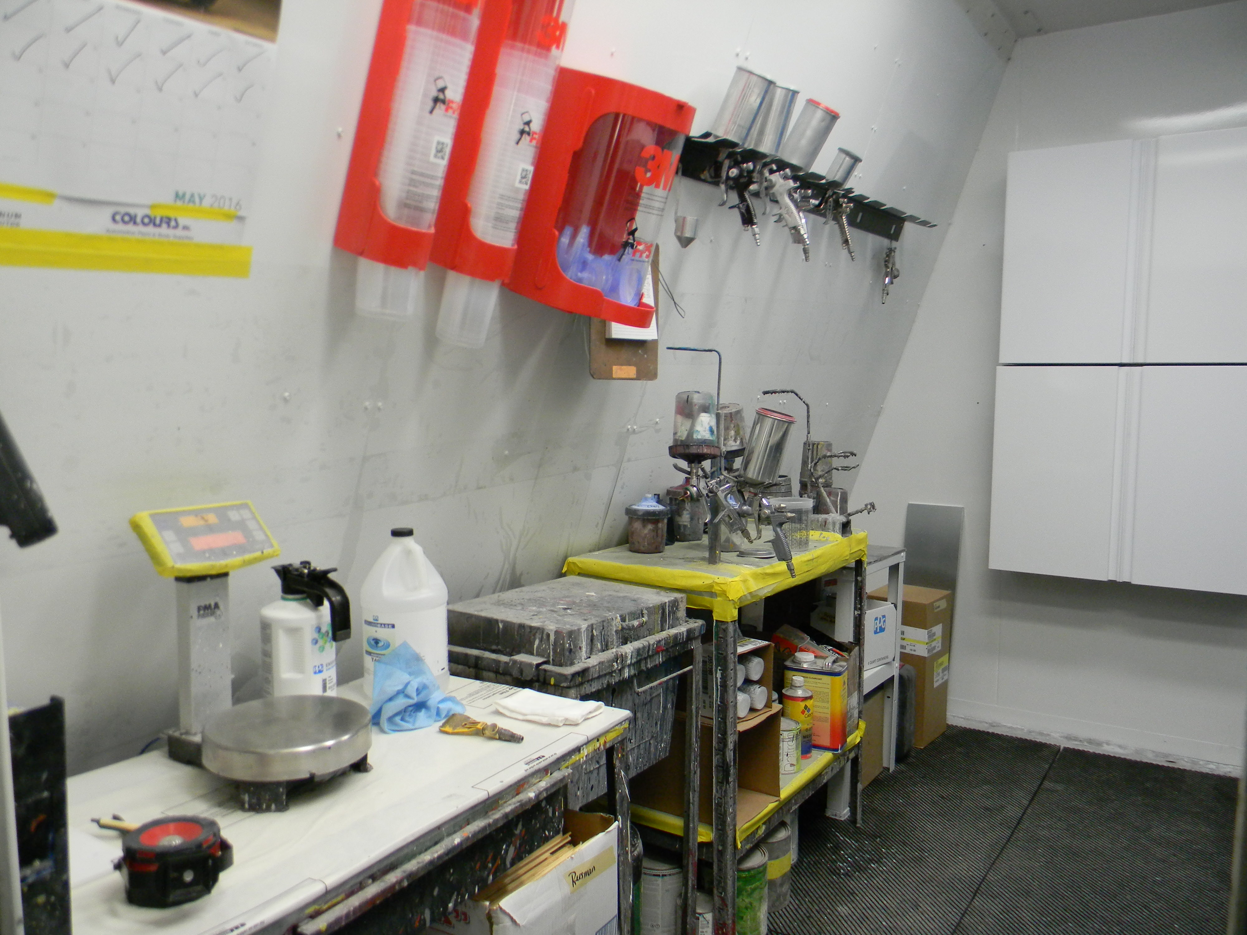 Reesman Body Shop-Paint Booth