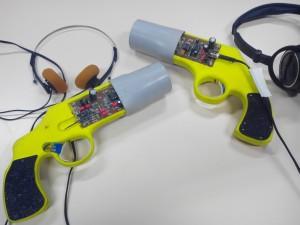 Les pistolets de lumière