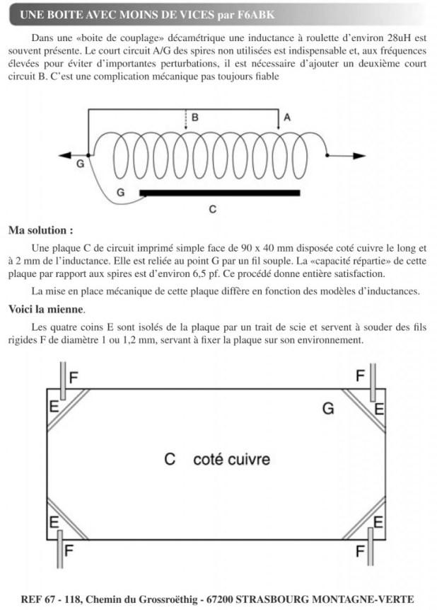 Article dans la Liaison 67 de 2004, Une autre alternative F6ABK