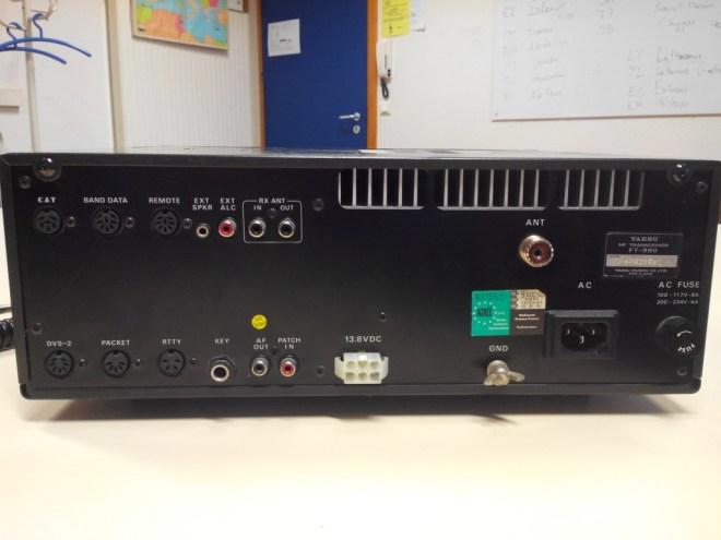 Transceiver FT990 YAESU Face arrière en vente
