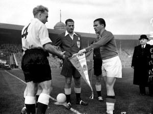 Horn Wembley 1953 England Hungary