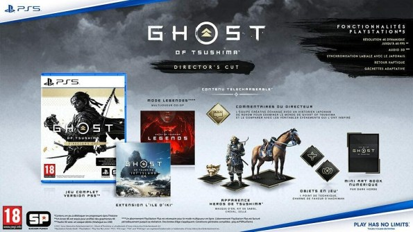 Ghost Of Tsushima Director's Cut - Jeux PS5 : Référence Gaming