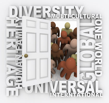 Diversity - Open Door to Many Diverse Cultures