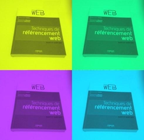 Présentation du livre Techniques de Référencement Web