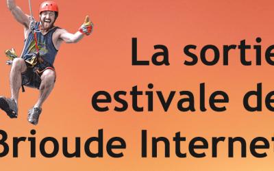 Sortie estivale 2017 : Brioude Internet a mouillé le maillot !