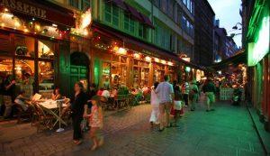 Lyon pedestrian street