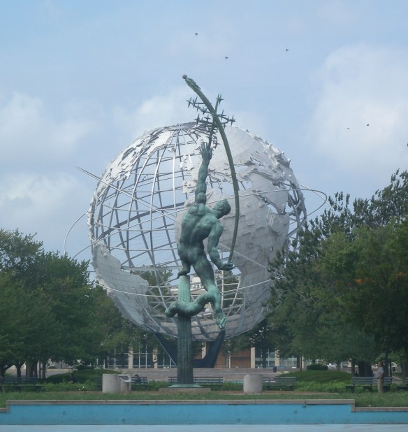 Rocket Thrower & Unisphere by Jim Henderson