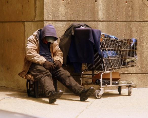 """""""Homeless Man"""" by Matthew Woitunski"""