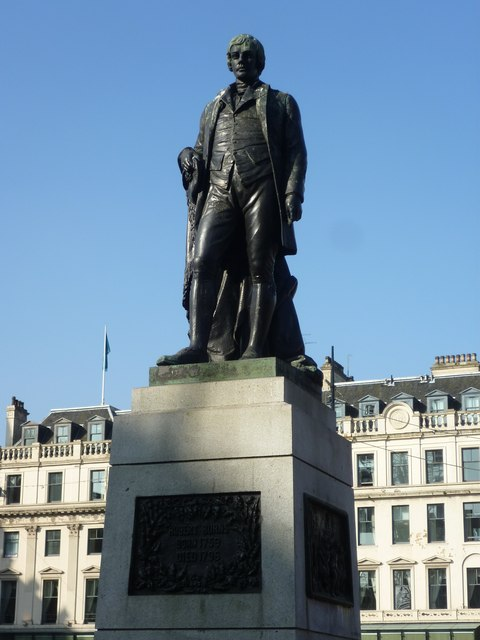 Robert Burns Statue