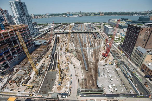 Metropolitan Transportation Authority of the State of New York - Construction at Hudson Yards