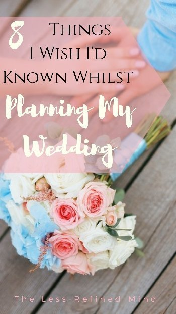 If you want to know how to make your wedding day perfect with no regrets, learn from my mistakes! #wedding #weddingideas #WeddingPlanning