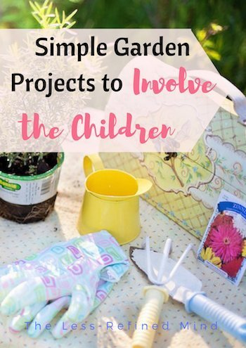 Are you looking for simple garden inspiration to improve your outside space easily, and perhaps also get the children involved? Check out these ideas. #garden #inspo