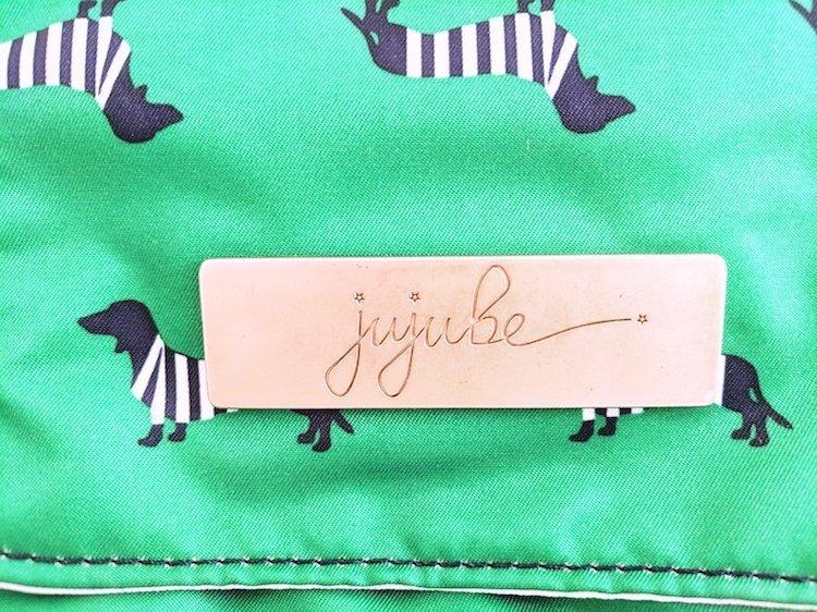 Ju-Ju-Be Backpack Nameplate