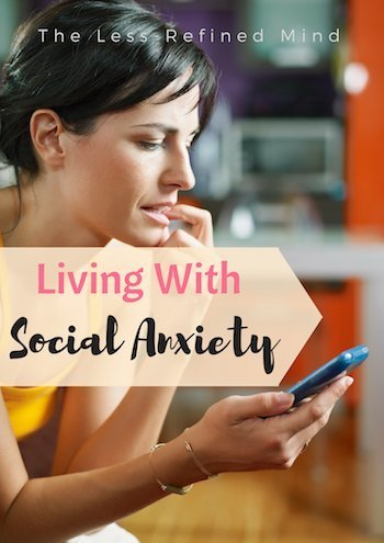 How social anxiety can affect relationships and prevent people from feeling comfortable in social situations. #anxiety #socialanxiety #socialising