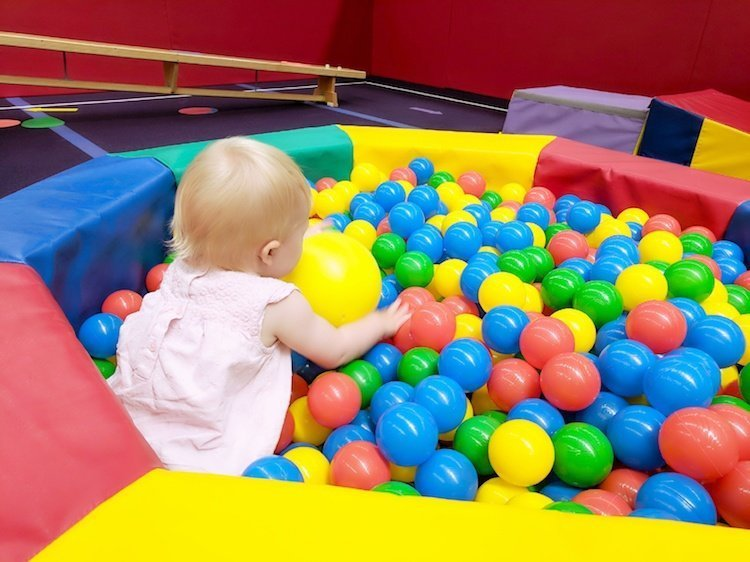 Gymfinity Kids Review - Ball Pool