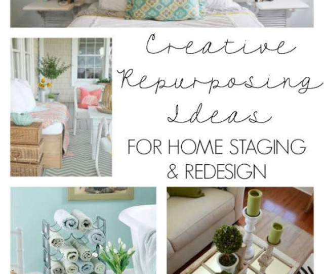 Repurposed Home Decorating Ideas 2018 - Home Comforts