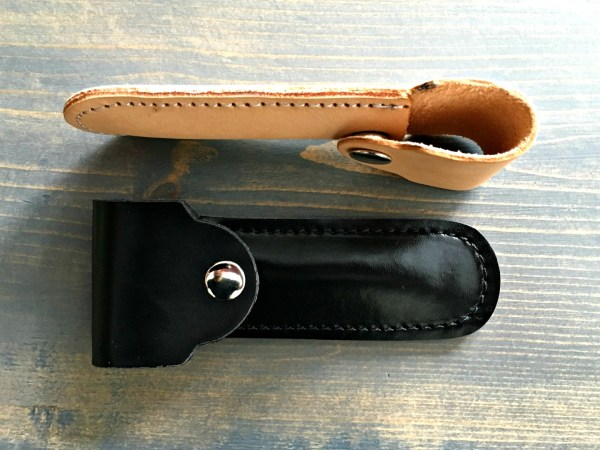 Fendrihan Safety Razor Leather Pouch