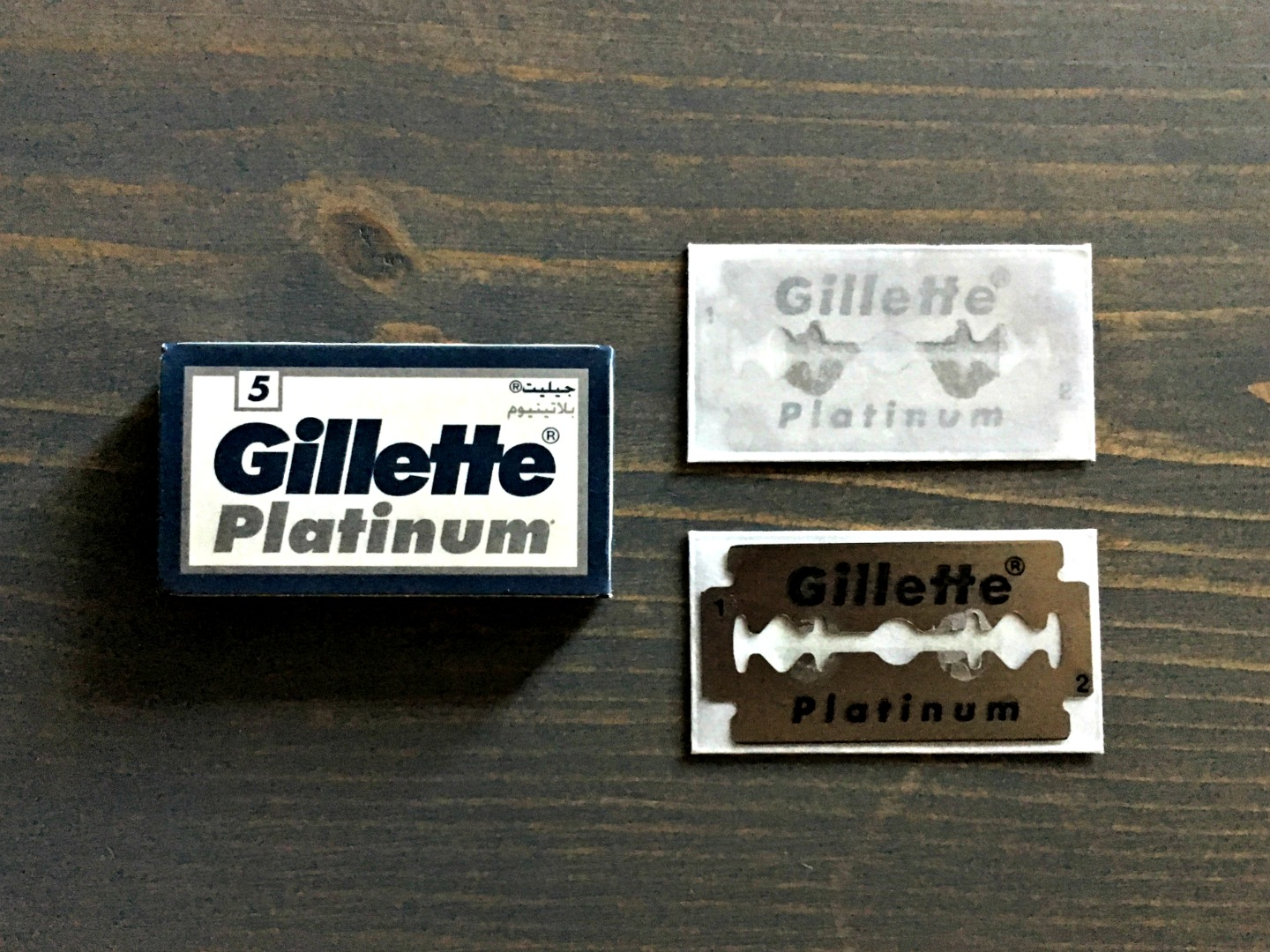 Gillette Platinum Razor Blade Review