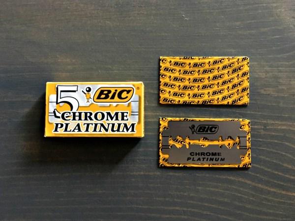 BIC Chrome Platinum Razor Blade Review