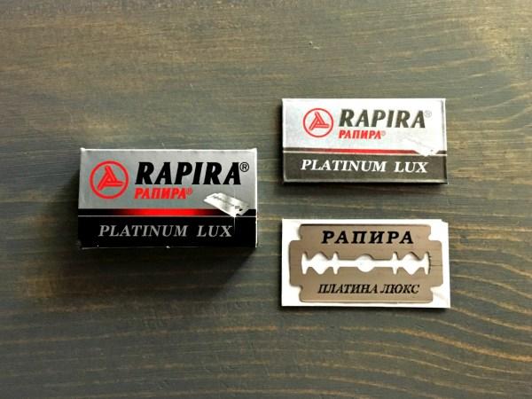 Rapira Platinum Lux Razor Blade Review