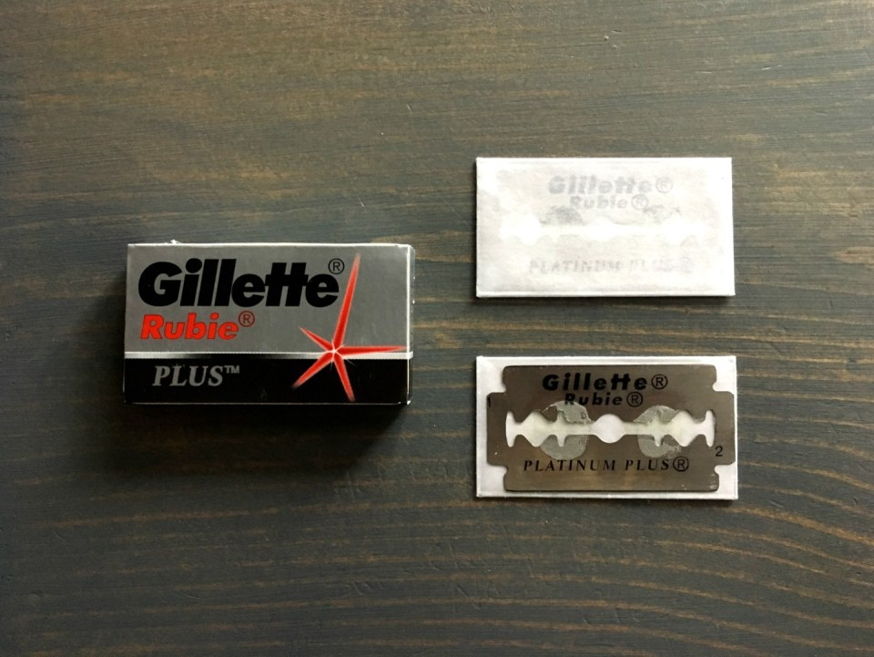 Gillette Rubie Plus Razor Blade